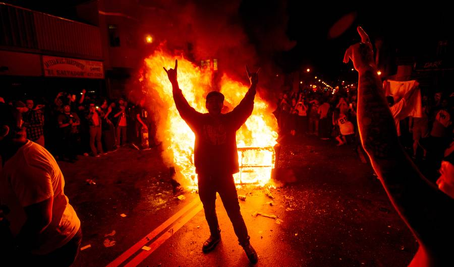 Rioting 1