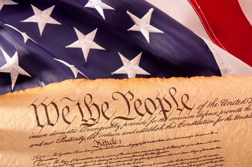 Constitution flag