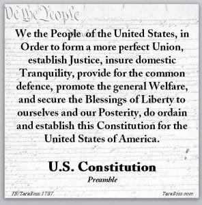 Constitution Preamble