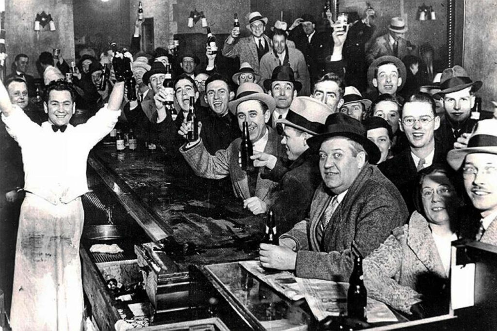 1933 end of prohibition