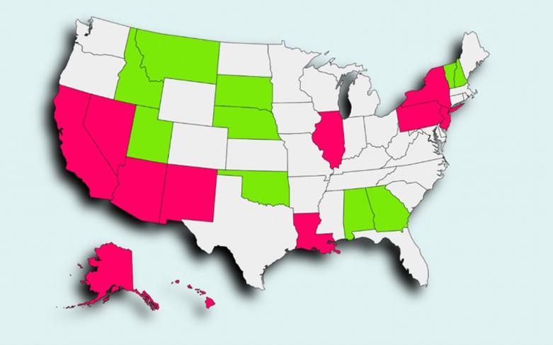 map states